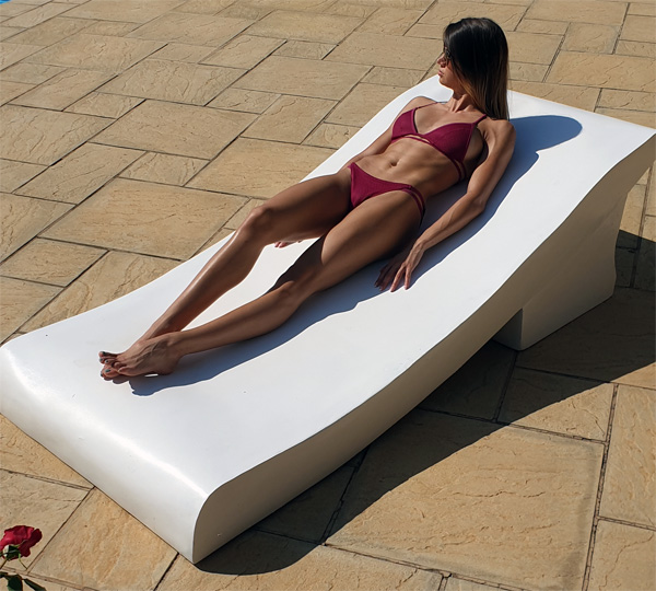 duo tanning chair easy to move